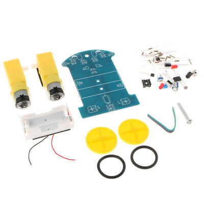 2WD Smart Robotic Robot Car Chassis Kit DIY Soldering Project For Tracking