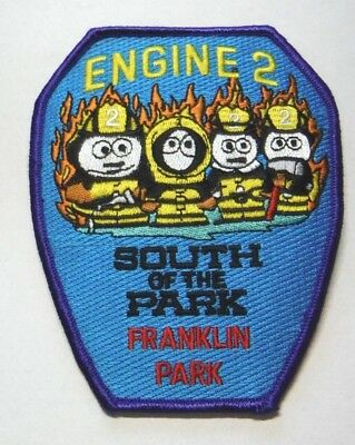 Franklin Park Illinois Fire Dept Engine 2 South Of The Park Patch Unused