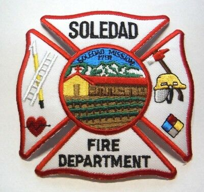 Soledad California Fire Dept Patch Unused