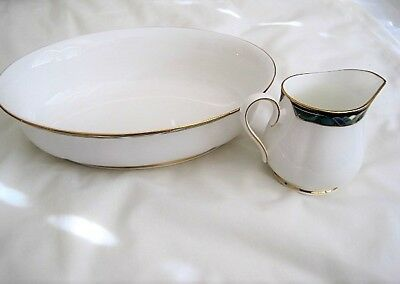 Choose Lenox KELLY Debut Collection Oval Serving Bowl or Creamer Fine Bone China