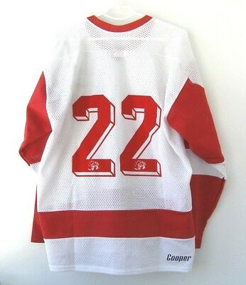 Cooper (Canada - Montreal Canadiens Style) Vintage Ice Hockey Jersey Shirt sz XL