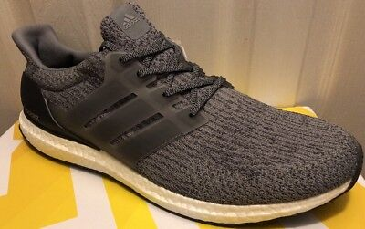 83a7134385b0c New Adidas UltraBoost 3.0 Men Shoes Mystery Grey Ultra Boost BA8849 Size 15
