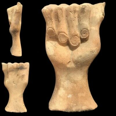 Ultra Rare Ancient Egyptian Life Sized Stone Hand Late Period 664 - 332 Bc