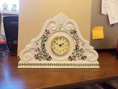"Portmeirion Botanic Garden Large 8"" Mantel Clock"