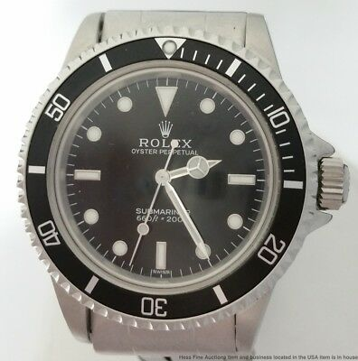 Most Mint Vintage Rolex Submariner 5513 Ever w/Papers