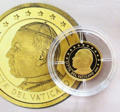 2005 Gold Northern Mariana Islands $5 Pope Vatican City Proof Coin