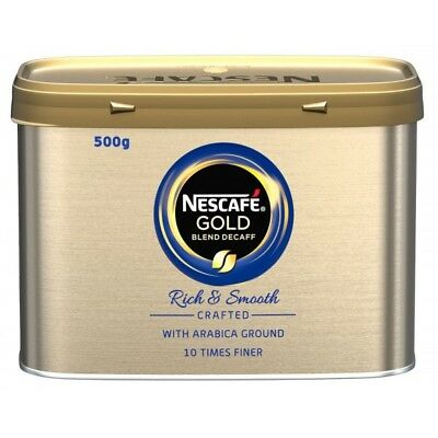 Gold Blend Decaf Coffee 500g NWT058 Nescafe Genuine Top Quality Product New