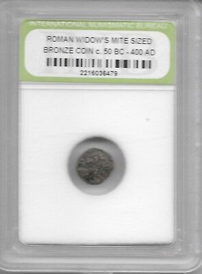 Rare Very Old Ancient Antique Widows Mite Roman Empire Era Jesus Bible Coin AB12