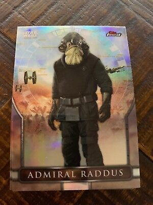 2018 Topps Finest Star Wars Rogue One: A Star Wars Story Complete 20 card Set