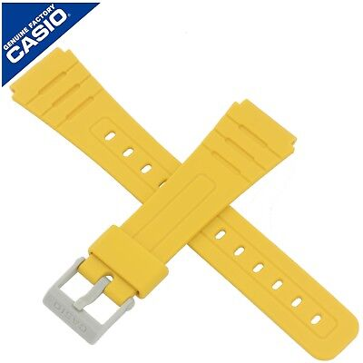 Genuine Casio Watch Strap Band for F-91WC F 91WC 91W 91 F-91W F-91 YELLOW