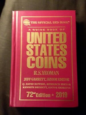 2019 RED BOOK - PRICE GUIDE of U.S. COINS - HARDCOVER - WHITMAN