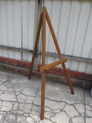 Large Wooden Artists Painting Easel Tripod Canvas Holder Studio Display