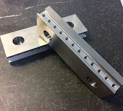 """6"""" Vise Jaws, For MiteeBite Talongrip, To Fit 6"""" Kurt, Parlec, Teco, And Others"""