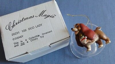 Disney Christmas Magic Ornament LADY from Lady and the Tramp