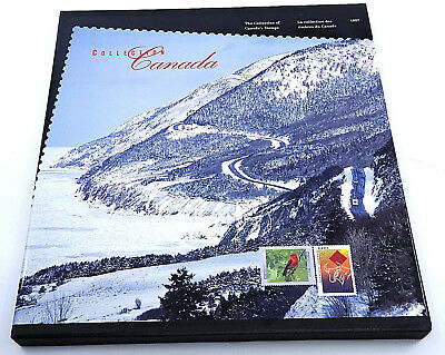 Canada Post Stamp Collection Souvenir Album Book 1997 With All Stamps Included