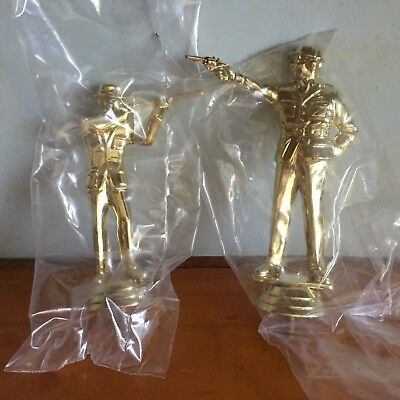 Trophy Toppers Boxing Rifle Pistol Bocce Speaker Cards  Ex Stock 1 Box Lot
