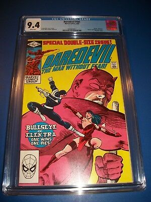 Daredevil #181 Key CGC 9.4 NM Miller Death of Elektra Bullseye Kingpin Punisher