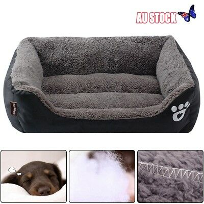 Pet Dog Cat Bed Puppy Cushion House Soft Warm Waterproof Kennel Dog Mats Blanket
