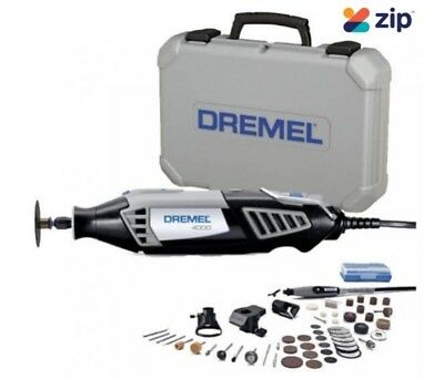 Dremel - 4000 Series High Performance Rotary Tool Kit + 50 Piece Accessory Set