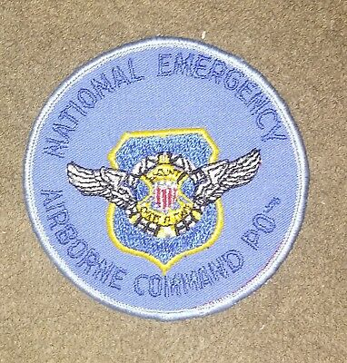 NOS US Joint Chiefs of Staff National Emergency Airborne Command Post Patch