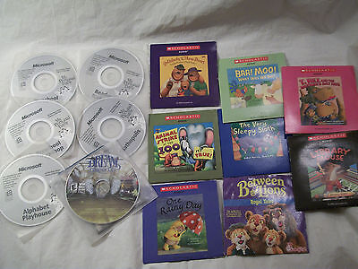 Lot Of 14 Kids Learning & Educational CD's~ (Lot CC4)