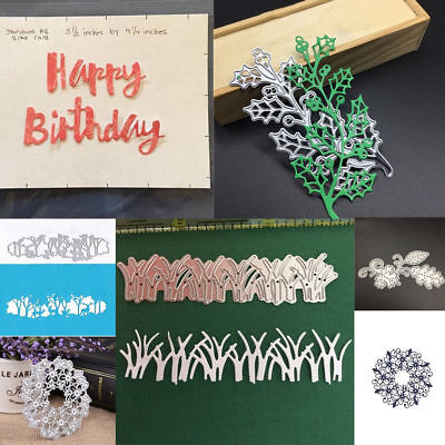 20 Styles Craft Metal Cutting Dies Stencil Scrapbooking Cards Embossing Die-Cut