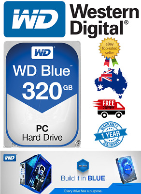 "Western Digital Blue 320Gb 3.5"" SATA Internal Hard Drive Brand New 7200RPM"