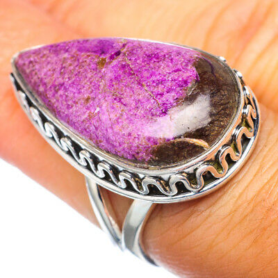 Large Sugilite 925 Sterling Silver Ring Size 7 Ana Co Jewelry R921923