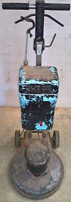 BRAMIL 40cm rotary carpet shampoo machine and scrubber in fair condition USED