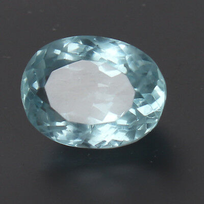 18.70 Ct. Natural Aquamarine Greenish Blue Color Oval Cut Certified Loose Gems