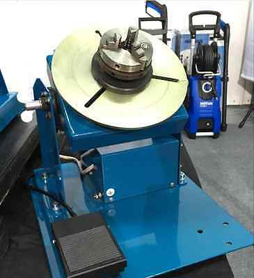 New 2-10RPM 10KG Light Duty Welding Turntable Positioner with 65mm Chuck  m