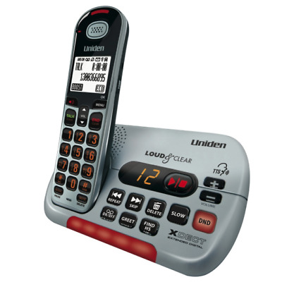 Uniden SSE35 Visual & Hearing Impaired Dig. Cordless Phone