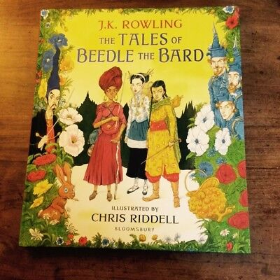 The Tales Of Beedle The Bard - J K Rowling/C Riddell Signed UK first edition 1/1