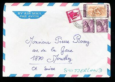 Airmail Letters from India to Switzerland (18)