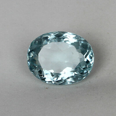 23.35 Ct. Natural Aquamarine Greenish Blue Color Oval Cut Certified Loose Gems