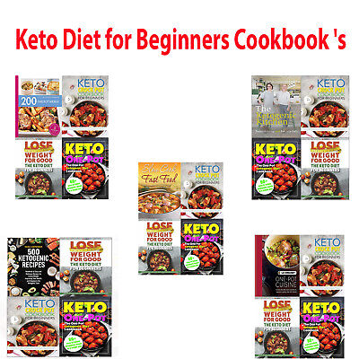 The One Pot Ketogenic Keto Diet for Beginners Cook book's Collection 4 Books set