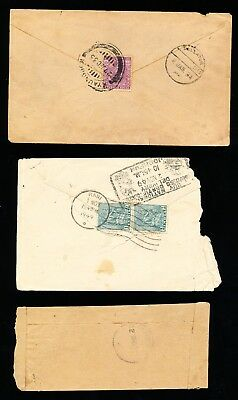 3 Indian Covers - some with stamps (317)
