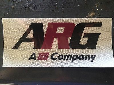 ARG-QR Reflectorized Wagon Sticker