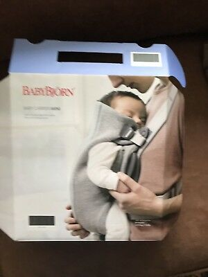 Baby Bjorn Baby Carrier One, Black, Brand New