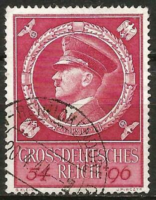 Germany (Third Reich) 1944 Used - 55th Birthday Hitler - Mi 887 SG 875