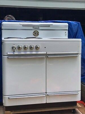 1940's or 50's Monarch Wood and Electric Range Stove
