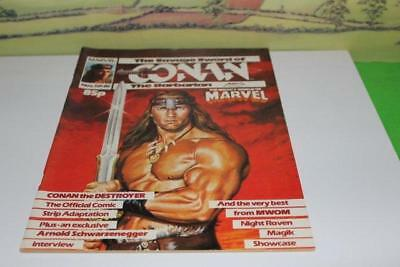 Conan The Barbarian The Savage Sword Marvel Issue No 85 1984