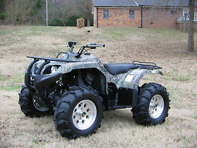 2010 YAMAHA GRIZZLY CAMO 350 4x4 W/DIFF LOCK FULLY AUTO W/IRS! ONLY *975* MILES!