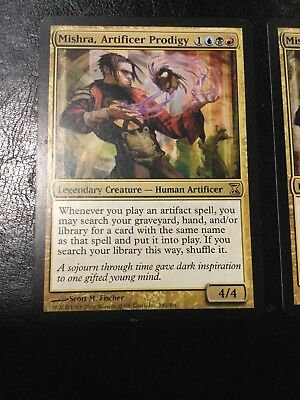 2x Mishra, Artificer Prodigy ~ Time Spiral ~ Excellent+ ~ Magic The Gathering