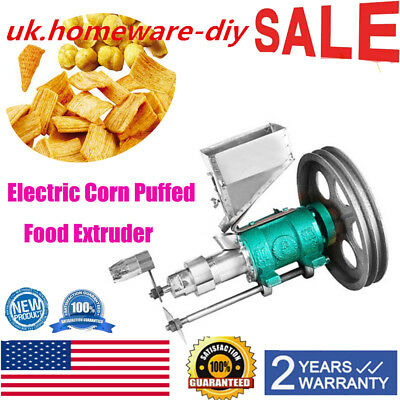 Exquisite electric corn puffed food extruder extruding food puffing machine USA
