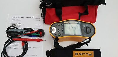 Fluke 1653 Multifunction 18th Edition Tester with 12 Months Calibration