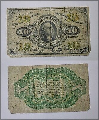 10 Cent Fractional Currency United States Note