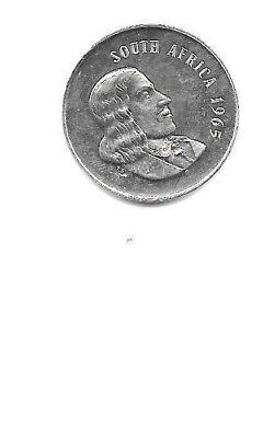 1965 South Africa 20 Cents  Proof
