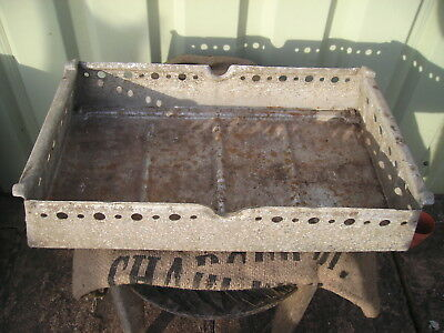 Vintage Weathered Industrial Galvanized Metal Trough Tray Garden  Planter Lovely