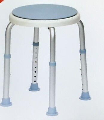 Drive DeVilbiss Healthcare Rotating Rounded Bath / Shower Stool with Swivel Seat